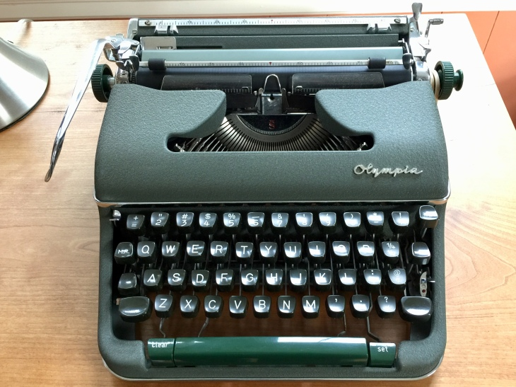 Olympia SM4 Portable Typewriter